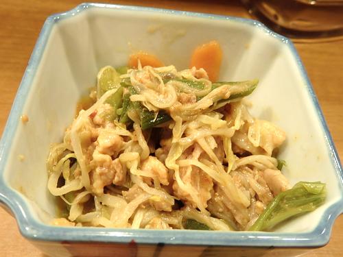 15豚肉とお野菜のコチュジャン炒め