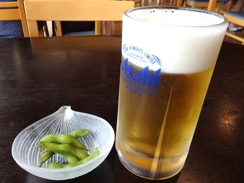 56生ビール枝豆