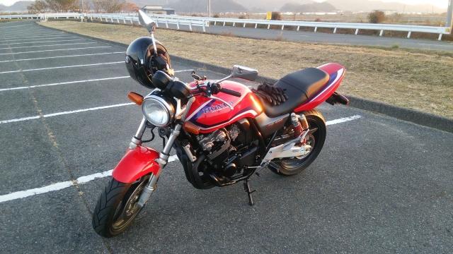 00_カスタム前CB400SF