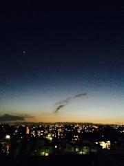 2015年 夕方の金星