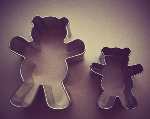 クッキークマ型