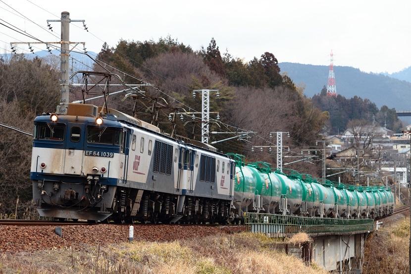子野川橋梁・・昔はアメリカ製赤いアンダートラスの鉄橋だった・・