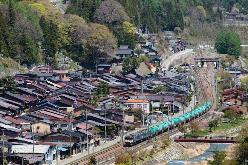 奈良井宿を行く!