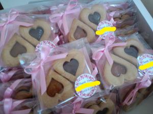 3ハートクッキー
