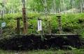 09山中に立つ墓標