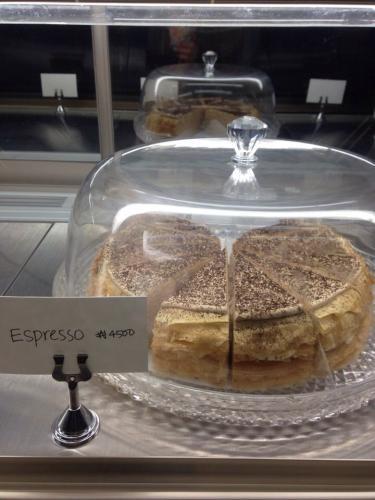 エスプレッソも美味しかったです♡