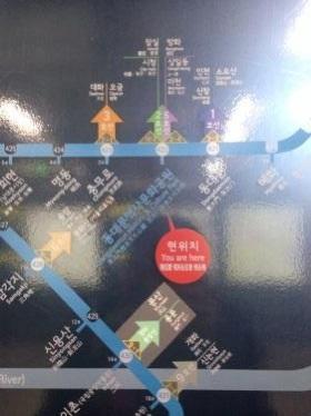 路線図によっては乗換え時に便利な位置(どの車両に乗ればよいかの)案内がある路線図も^^