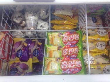 冬でも人気なアイスクリーム。
