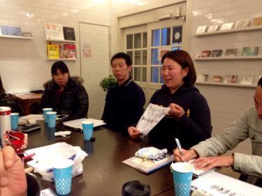 済州島の方言を紹介してくれた韓国人メンバー^^