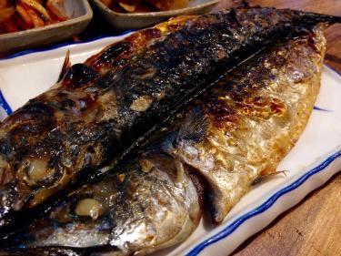 鯖焼き。これがまた美味なんですッッ