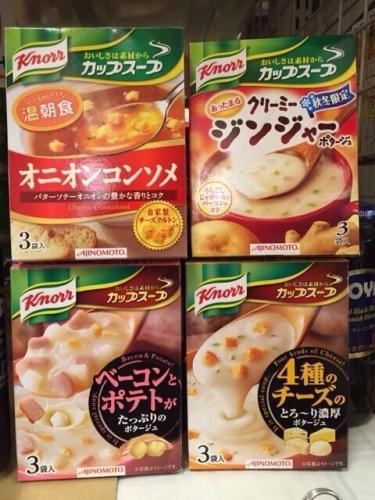 スープ類も1〜2箱持って来ても◎かもです^^