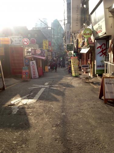 自分が今生活している韓国の街を歩いてみる…