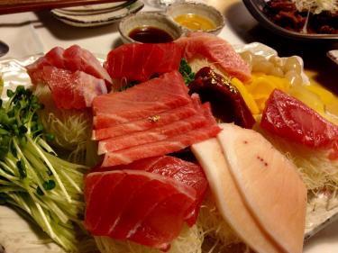 韓国で美味しいお刺身を食しました^^