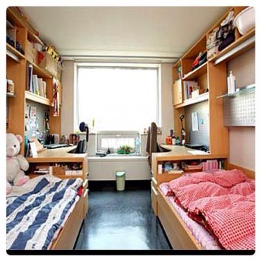 寄宿舎のお部屋(例2)