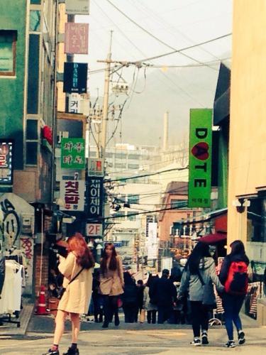 あなたがやって来た韓国の街は…