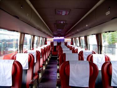 バスでの旅の楽しいものですㅎ