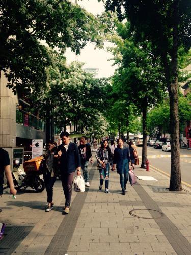 すっかりホンデの街の雰囲気も夏らしく。