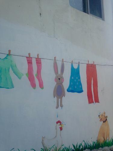 洗濯場の風景