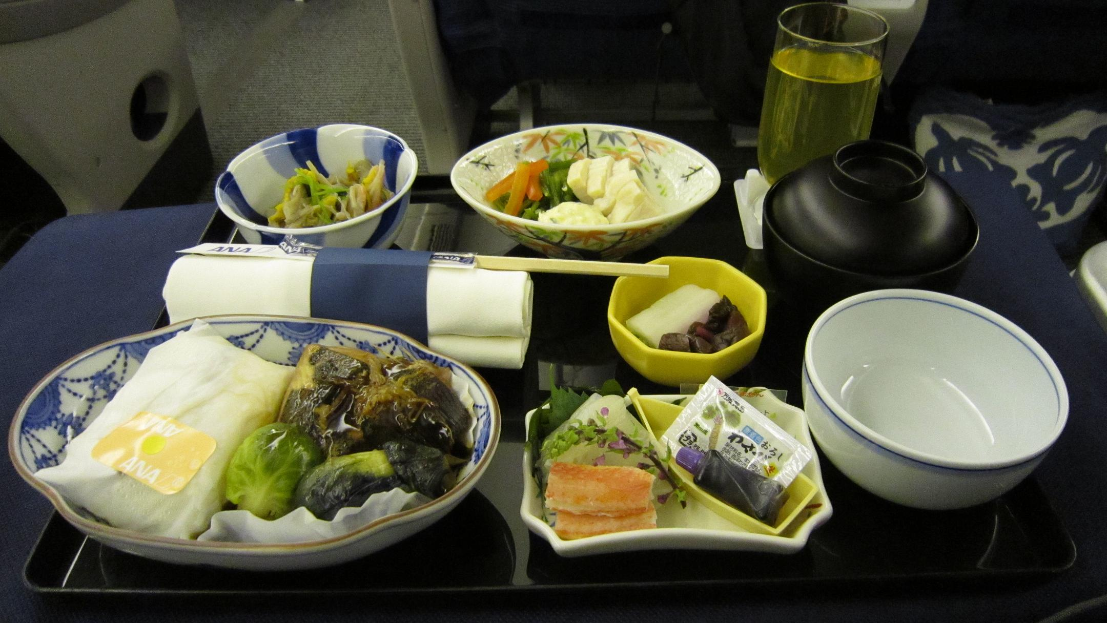 2010-11ハワイ機内食