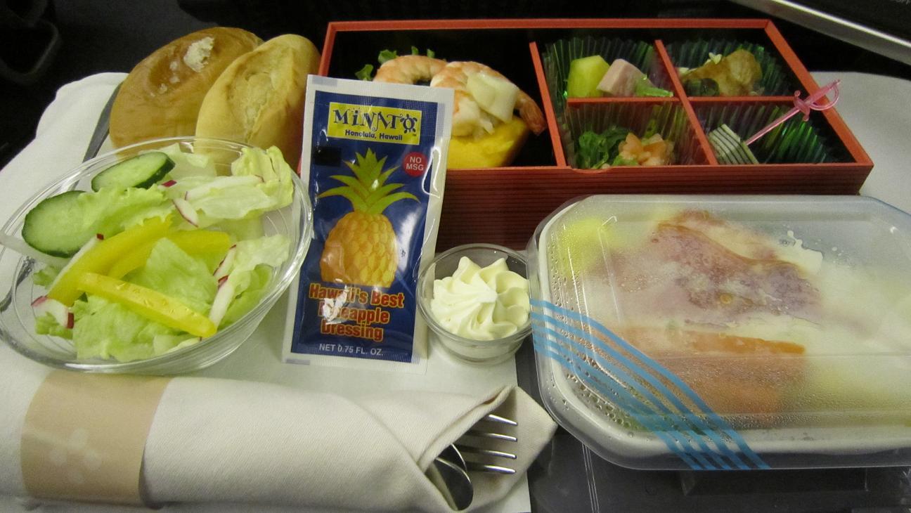 2012-1ハワイ機内食