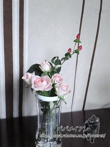 ペットの花瓶
