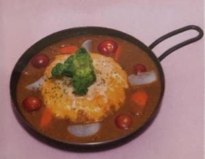 江戸東京野菜焼チーズカレー