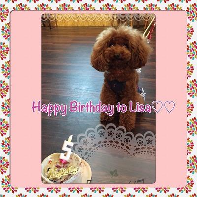リサちゃん/Birthday Girl ♪♪
