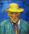 ノートン・サイモン『農民の肖像(パシアンス・エスカリエの肖像)』(2) フィンセント・ファン・ゴッホ