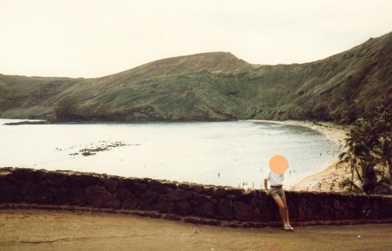 ハワイ2日目ハナウマ湾②-1