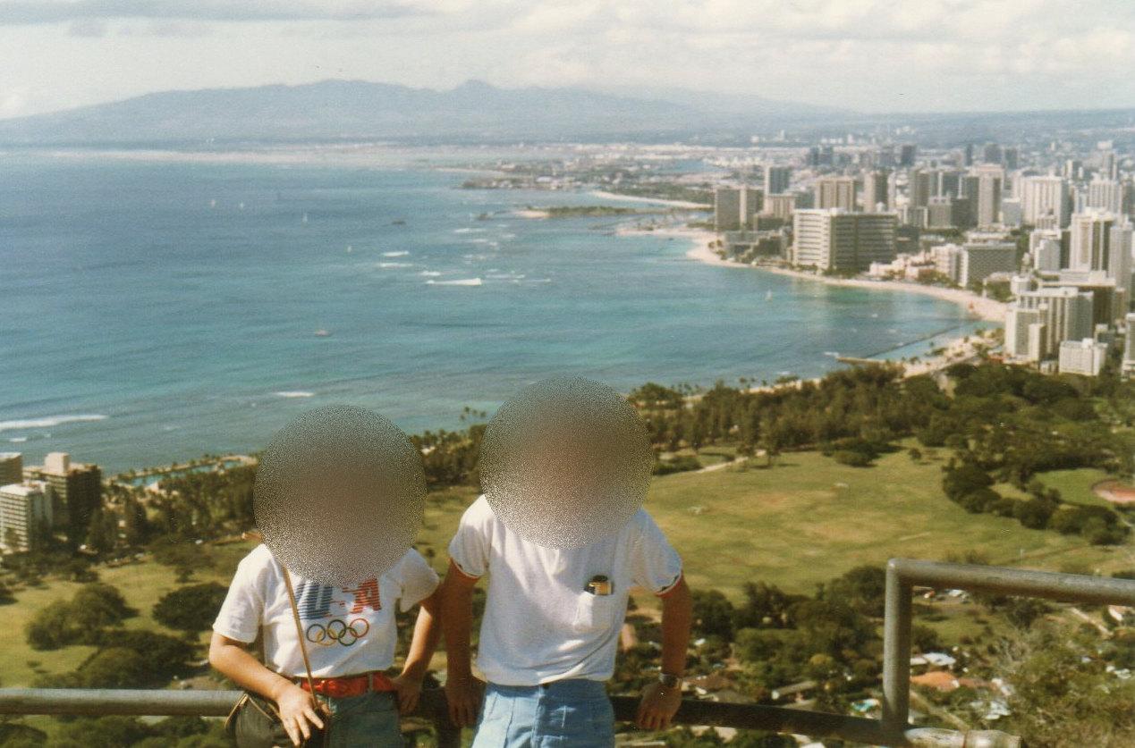 ハワイ3日目⑩ダイヤモンドヘッド③-1
