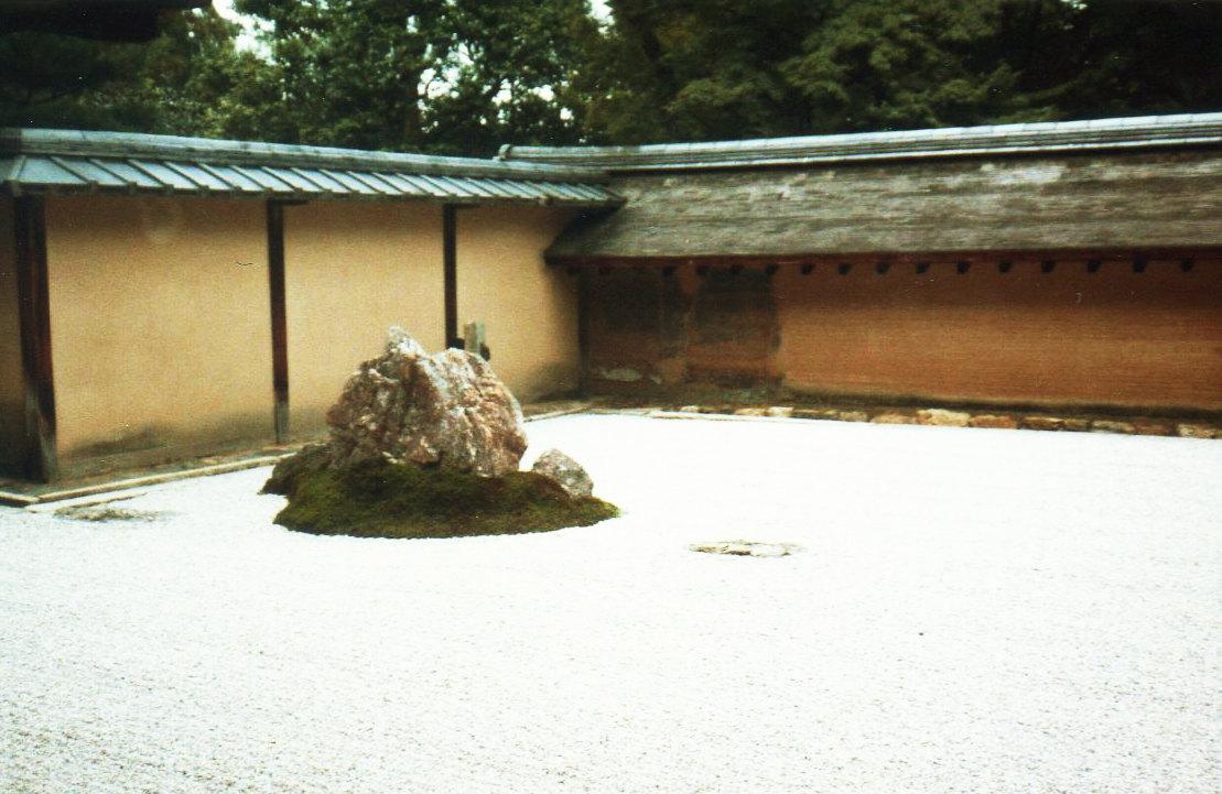 京都竜安寺・石庭②-1