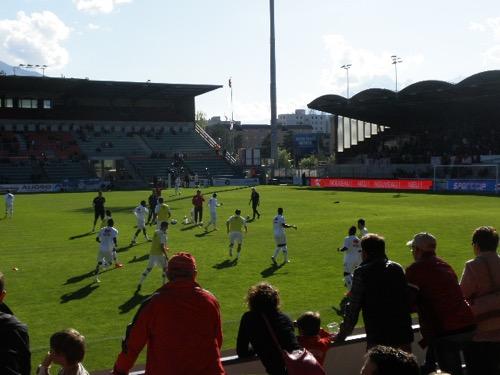 サッカースイスリーグ観戦