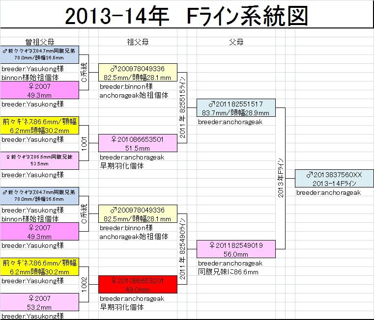 Fライン系統図
