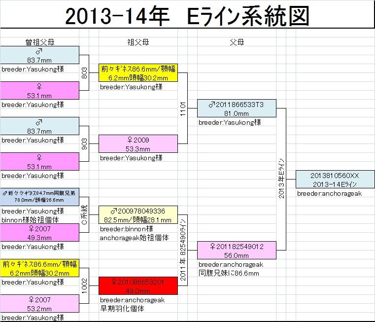 Eライン系統図