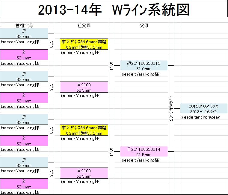 Wライン系統図