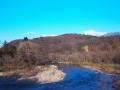 北関から見た青葉山