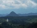 青葉山と太白山と蔵王(雪が少し見えている)
