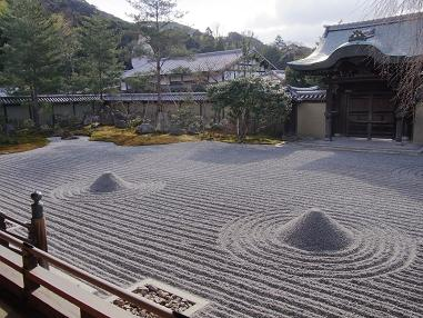 京都高台寺枯山水