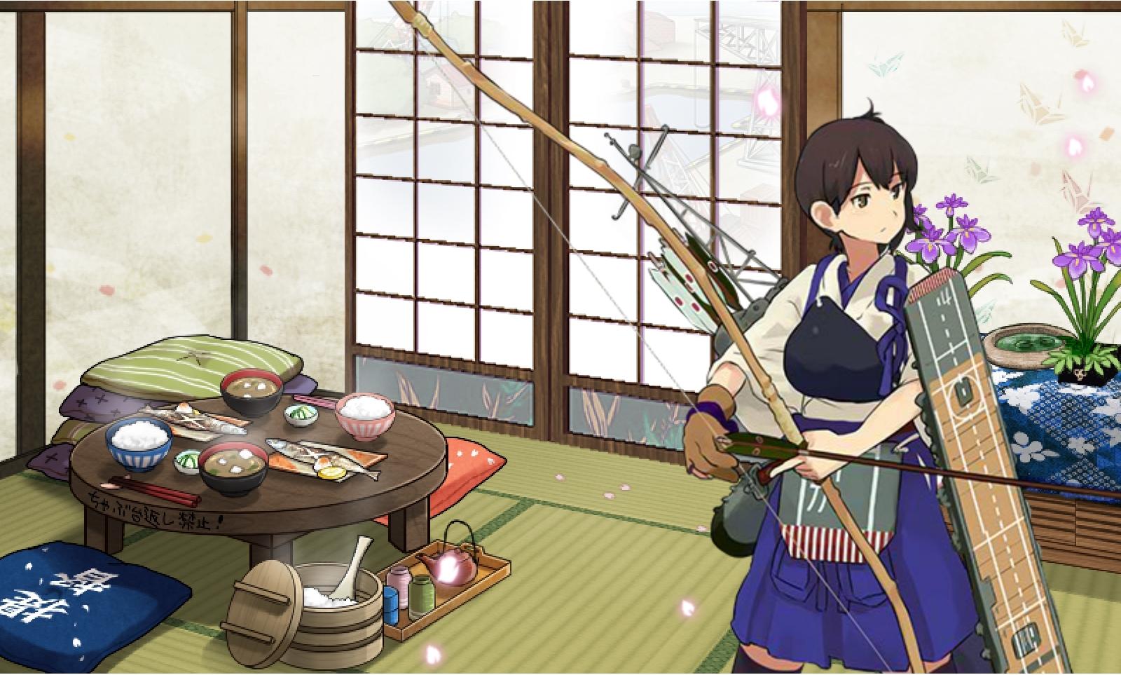加賀さんとお茶会