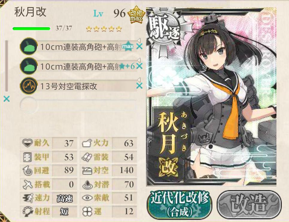 2015春イベ E-2編成8