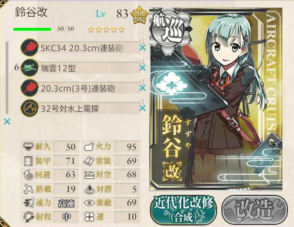 2015春イベ E-3編成3