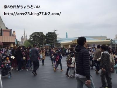 イースターの東京ディズニーリゾート~3日目(最終日)~①