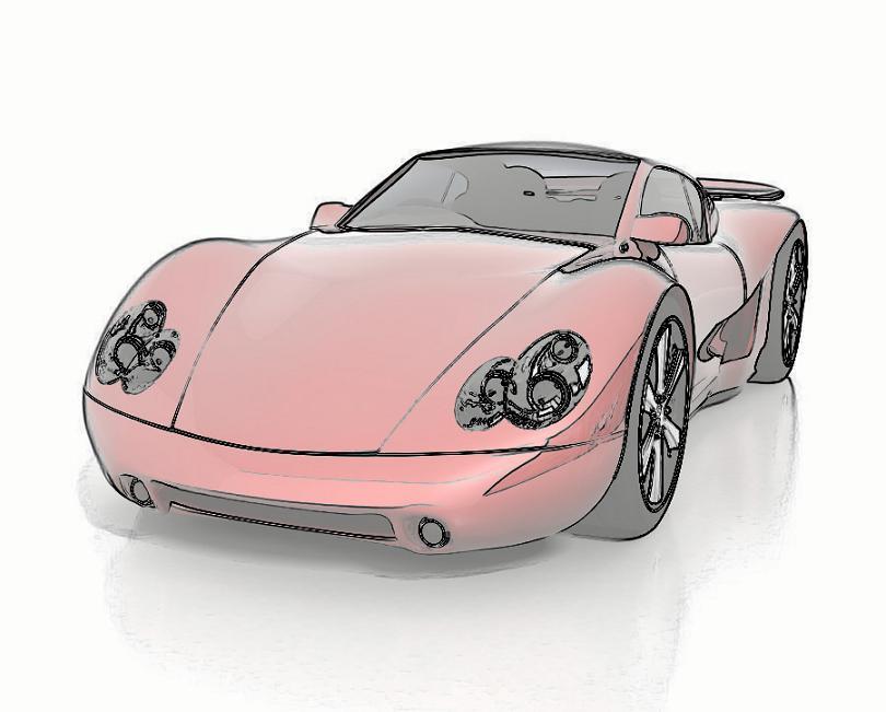 自動車02