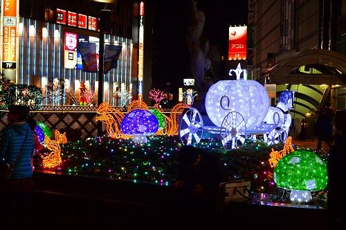 川口駅前イルミ 001