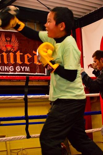 ボクシングジム 103