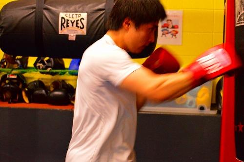 ボクシングジム 125