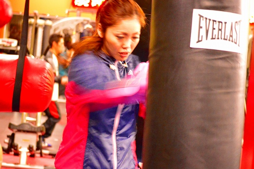 ボクシングジム 203