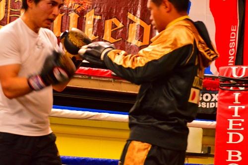 ボクシングジム 156