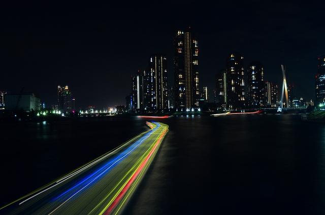 隅田川の夜景 046