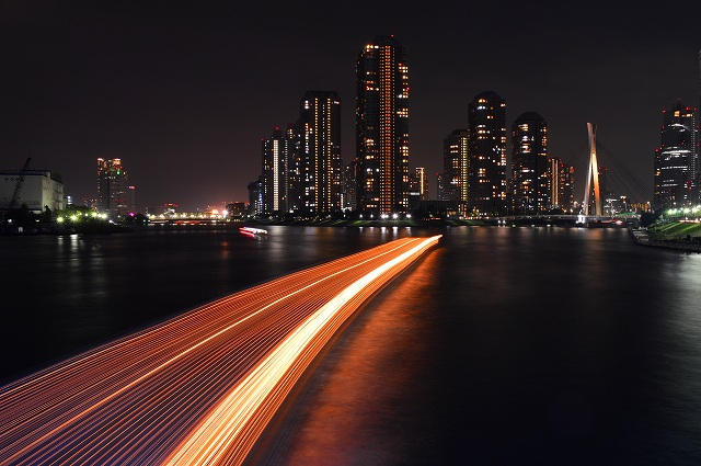 隅田川の夜景 041